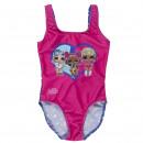 hurtownia Pozostałe: LOL - kostium kąpielowy, różowy