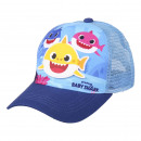 grossiste Jardin et bricolage: BABY SHARK - casquette premium, 51 cm, bleu