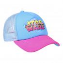 Star Wars - czapka premium, 56cm, niebieska