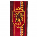 HARRY POTTER - towel cotton, 70 x 140 cm, red