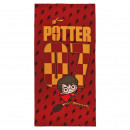 HARRY POTTER - towel polyester, 70 x 140 cm, red