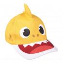 BABY SHARK - casquette premium 3d, 51 cm, jaune