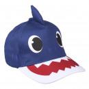 BABY SHARK - casquette premium 3d, 51 cm, bleu