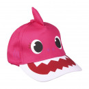 Großhandel Garten & Baumarkt: BABY SHARK - Kappe Premium 3d, 51 cm, pink