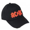hurtownia Ogrod & Majsterkowanie: ACDC - czapka premium, 58 cm, czarna