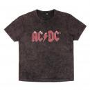 hurtownia Fashion & Moda: ACDC - T-Shirt mycie kwasem pojedynczo Jersey