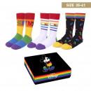 DISNEY - socks pack 3 pieces pride, one size (35-4