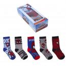 groothandel Licentie artikelen: Spiderman - sokken set 5 stuks`` veelkleurig