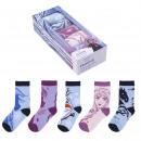 FROZEN II - socks pack 5 pieces, multicolor