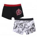 groothandel Kleding & Fashion: MARVEL - boxerpack 2 stuks, veelkleurig