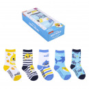 BABY SHARK - socks pack 5 pieces, multicolor