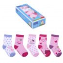 wholesale Licensed Products: PEPPA PIG - socks pack 5 pieces, multicolor