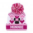 Minnie - sombrero jacquard, blanco
