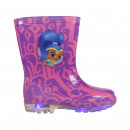 RAINBOW BOOTS PVC LIGHTS SHIMMER AND SHINE