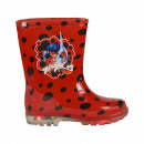 Großhandel Schuhe: LADY BUG - Stiefel regen PVC-Lichter