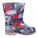 SPIDERMAN - boots rain pvc lights