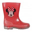 mayorista Artículos con licencia: Minnie - Botas lluvia pvc luces