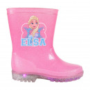 FROZEN - boots rain pvc lights, blue
