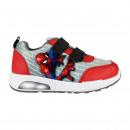 groothandel Licentie artikelen: Spiderman - sportieve schoenen lichten, rood
