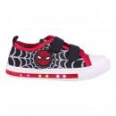 Spiderman - sneakers low lights, rood
