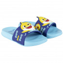 BABY SHARK - tongs piscine, bleu