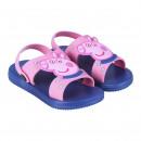 wholesale Bags & Travel accessories: PEPPA PIG - sandals beach pvc, dark blue