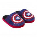 Avengers - zapatillas de casa abiertas, azul