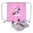 Minnie - zapatos deportivos suela de pvc, rosa