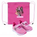 Princess - zapatos deportivos suela de pvc, rosa