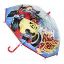 wholesale Umbrellas: MICKEY ROADSTER - umbrella poe manual, blue