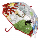 Großhandel Regenschirme: Avengers - Regenschirm Poe Handbuch, grau