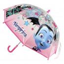 Großhandel Regenschirme: VAMPIRINA - Regenschirm Poe Handbuch, pink