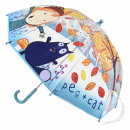 wholesale Licensed Products: PEG + CAT - umbrella poe manual, turquoise