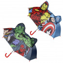 ingrosso Ombrelli: Avengers : manuale pop-up a ombrello, blu