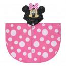 Großhandel Mäntel & Jacken: Minnie - Regenmantel Poncho, pink