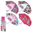 LOL - umbrella in display, 42 cm, assortment 1