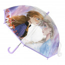 FROZEN - umbrella poe manual, 45 cm, lilac