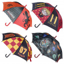 wholesale Bags & Travel accessories: AUTOMATIC UMBRELLA HARRY POTTER HOGWARTS - 4 UNI