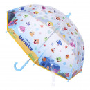 BABY SHARK - umbrella poe manual, 45 cm, yellow