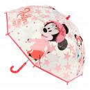 MINNIE - umbrella poe manual, 45 cm, red