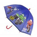 RICKY ZOOM - paraguas manual eva, 45 cm, azul oscu