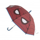 Spiderman - parasol automatyczny eva, 48 cm, czerw