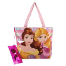 Princess - bolso de playa, rosa