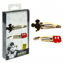 ingrosso Prodotti con Licenza (Licensing): Mickey - scatola di accessori per capelli, oro