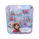 FROZEN - hair accessories blister, pink