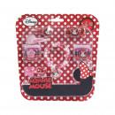 Minnie - Accessoires pour cheveux blister, rouge