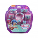 SHIMMER AND SHINE - hair accessories blister, lila