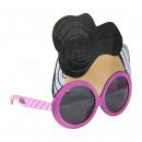 wholesale Accessories: LOL - sunglasses mask, pink