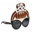 LOL - máscara de gafas de sol, marrón