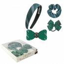 HARRY POTTER - hair accessories box 4 pieces slyth